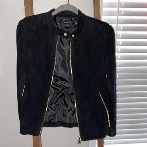 Ivanka Trump Suede Jacket